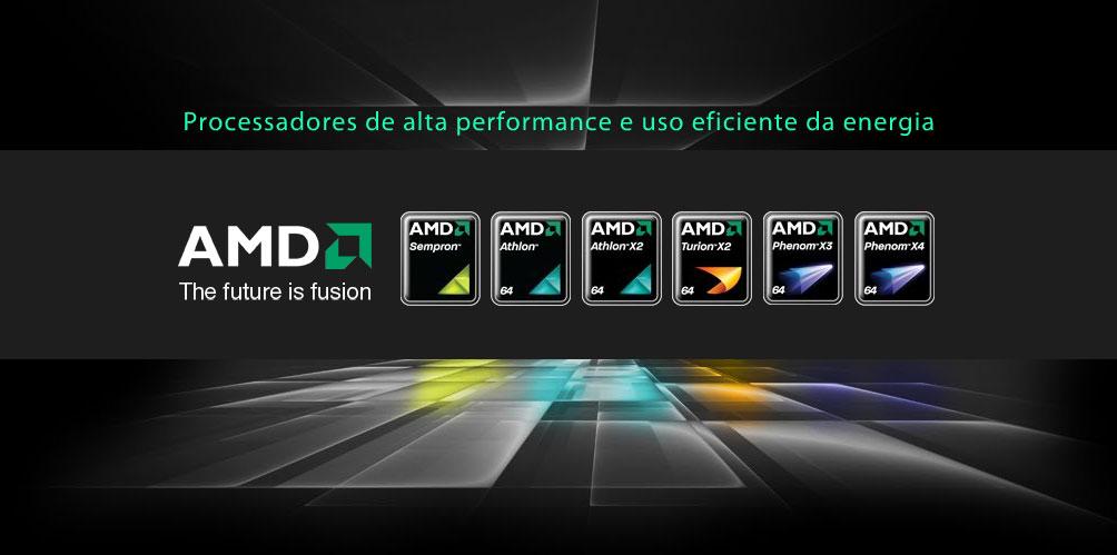 Hotsite Novos Processadores AMD