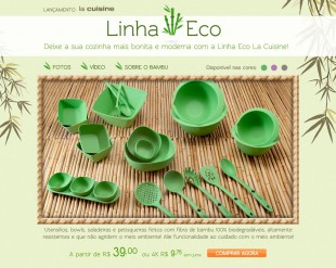 Hotsite Linha Eco La Cuisine