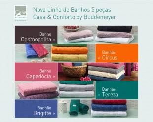 Hotsite Nova Linha de Banhos Casa & Conforto by Buddemeyer