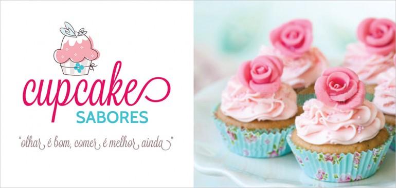 Logomarca Cupcake Sabores